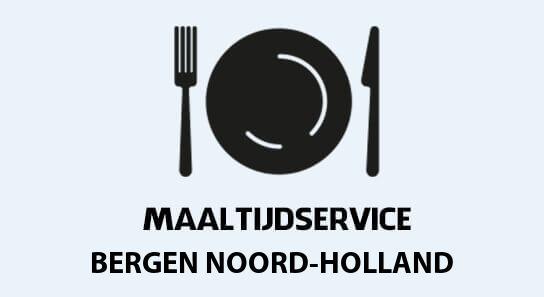 maaltijdvoorziening bergen-noord-holland