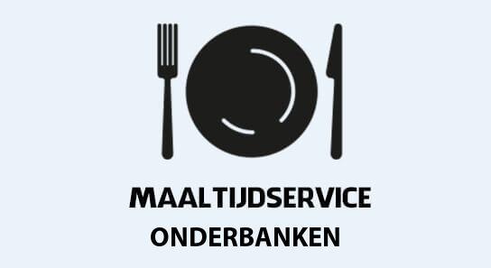 maaltijdvoorziening onderbanken