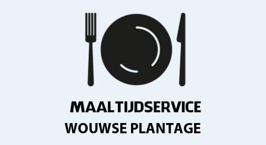 maaltijdvoorziening wouwse-plantage